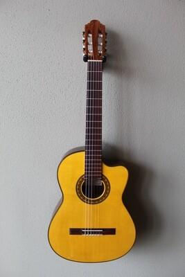 Marlon (Francisco) Navarro Flamenco Negra Guitar - with Cutaway