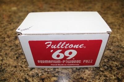 Used Fulltone '69 Germanium Powered Fuzz Guitar Pedal