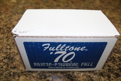 Used Fulltone 70-BC Silicon-Powered Fuzz Guitar Pedal