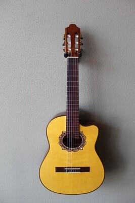 Used 2021 Marlon (Francisco) Navarro Requinto Guitar with Cutaway