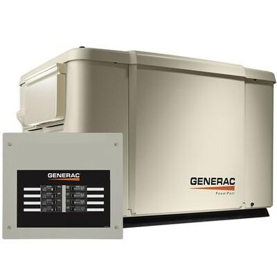 Generac powerpact 7 kW Generador Electrico a Gas