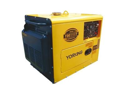 Yorking YDE6700T - 5 kVA planta electrica portatil de emergencia a diesel