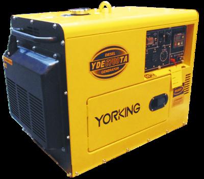 Yorking YDE6700TA - 5 kVA planta electrica portatil de emergencia diesel