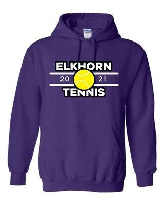 Elkhorn Tennis Hooded Sweatshirt