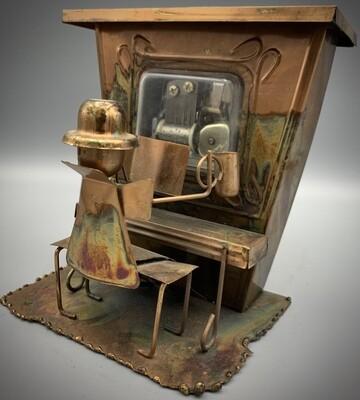 Tin Piano Man Music Box
