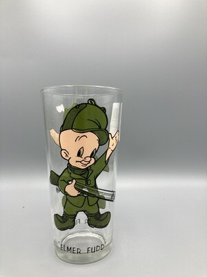 Elmer Fudd Pepsi glass