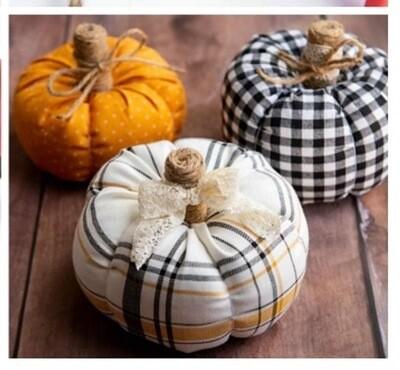 Fabric Pumpkin 9/24/21