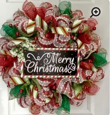 Winter Wreath Making 11/12/21