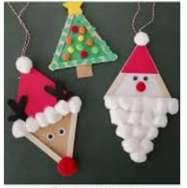 12/4/21 Children's Christmas Ornament Class