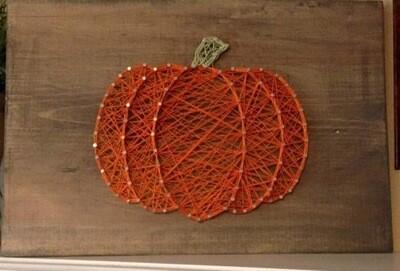 Fall String Art 10/16/21