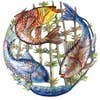 three fish garden