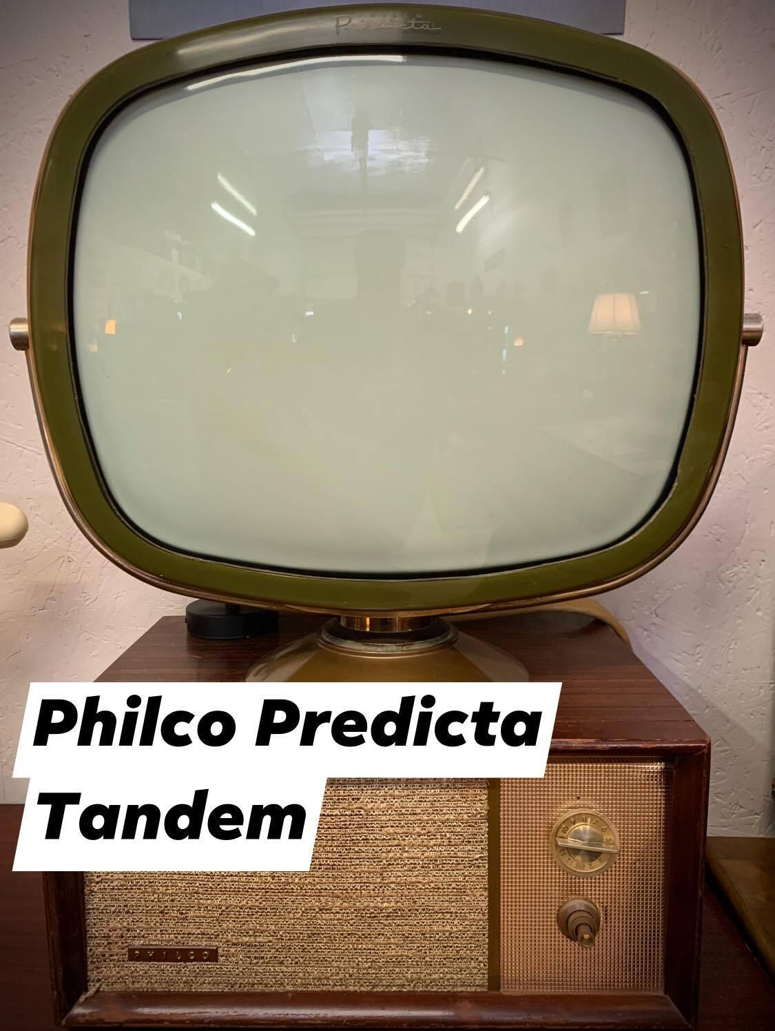Philco Predicta Tandem TV