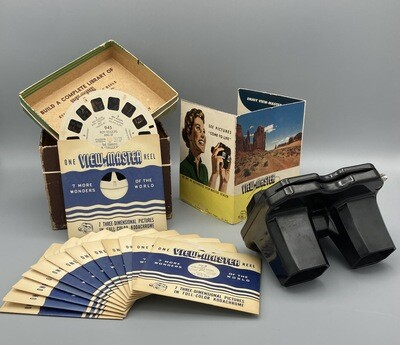 ViewMaster Stereoscope w/reels 1950s