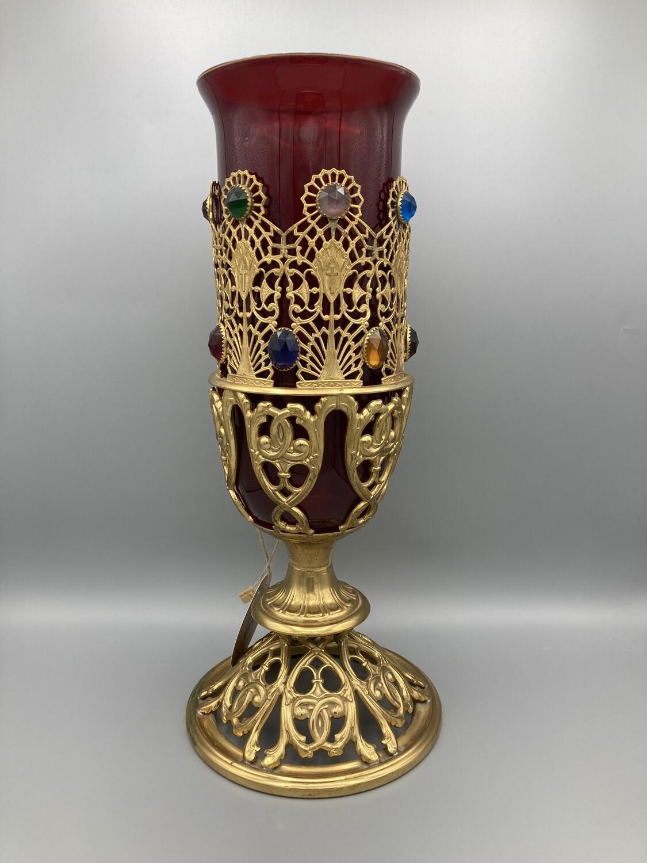 Santuary Ruby Candle Holder