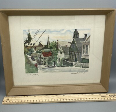 William Mck.Spierer Lithograph Signed
