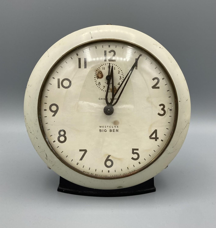 Westclox Big Ben Chime Alarm Clock (not working)