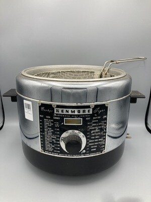 Kenmore  Cooker-Deep Fryer with recipes/instructions