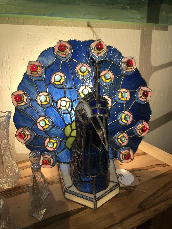 Mike Pickard Peacock Lamp