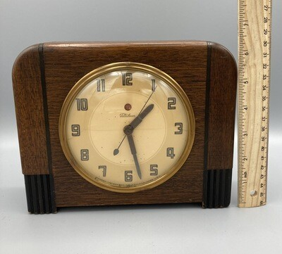 Telechron Art Deco Clock 4H157