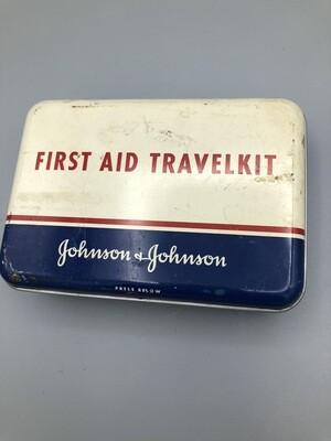 First Aid Travelkit Johnson & Johnson