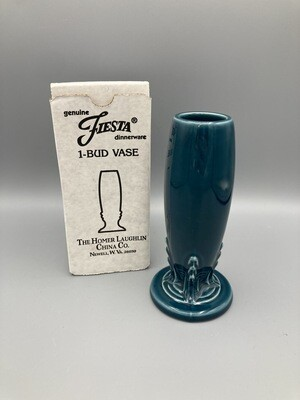 Fiestaware Juniper Bud Vase NIB