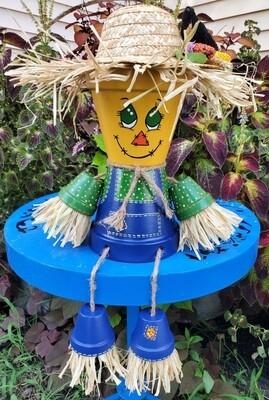 clay pot scarecrow 9/18/21