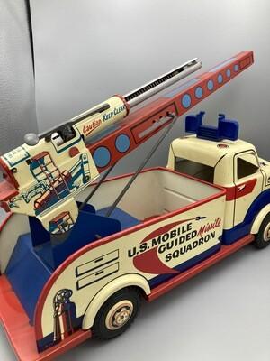 marx lumar missle squadron truck