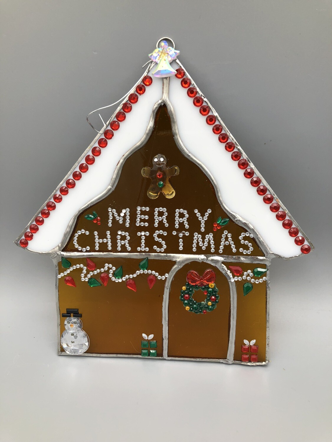 Gingerbread House Stained Glass Class 12/10/21