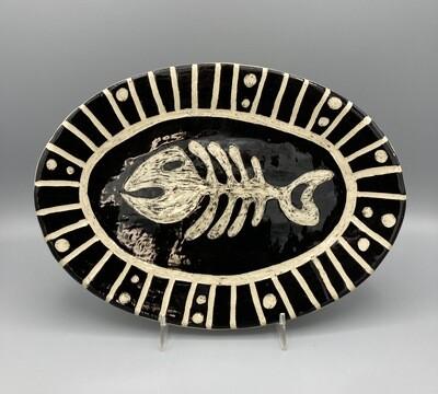 Joan Soldenwagner Fish Bones Platter