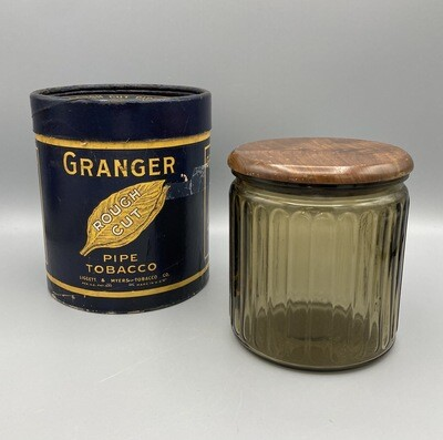 Granger Paper Container with Humidor
