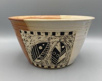 Joan Soldenwagner Black Leaf Bowl