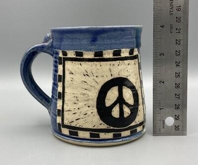 Joan Soldenwagner Peace Mug #3