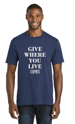 2020 Official Coastside Gives T-shirt