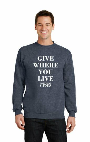 2020 Coastside Gives Crew Sweatshirt
