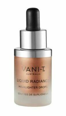 Vani-T Liquid Radiance Highlighter Drops - Sun