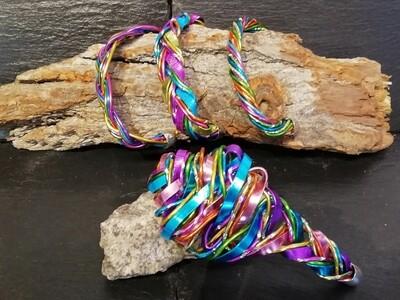 Bracelet multicolor small or big No.1 - Handmade by Corinna Kirchhof