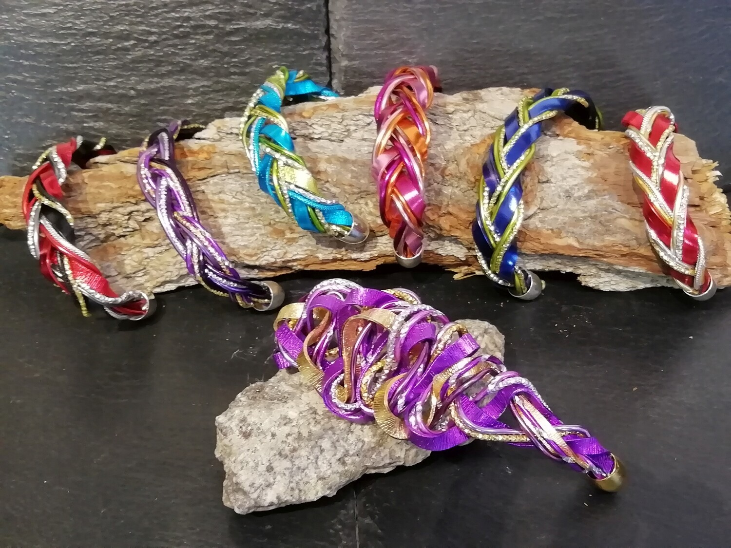 Bracelet multicolor small or big No.2 - Handmade by Corinna Kirchhof