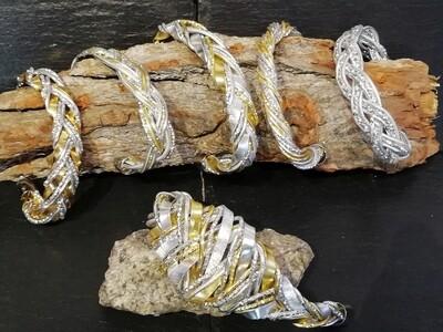 Bracelet silver / gold small or big - Handmade  by Corinna Kirchhof