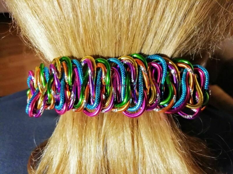 Hairclips multicolor Rounded - Handmade by Corinna Kirchhof