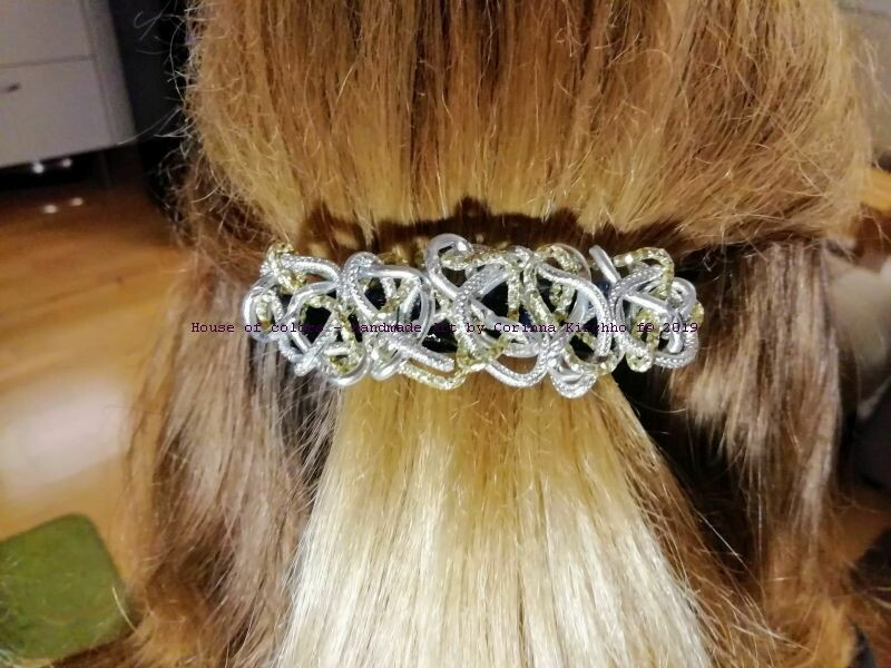 Hairclips silver / gold Open Style - Handmade by Corinna Kirchhof