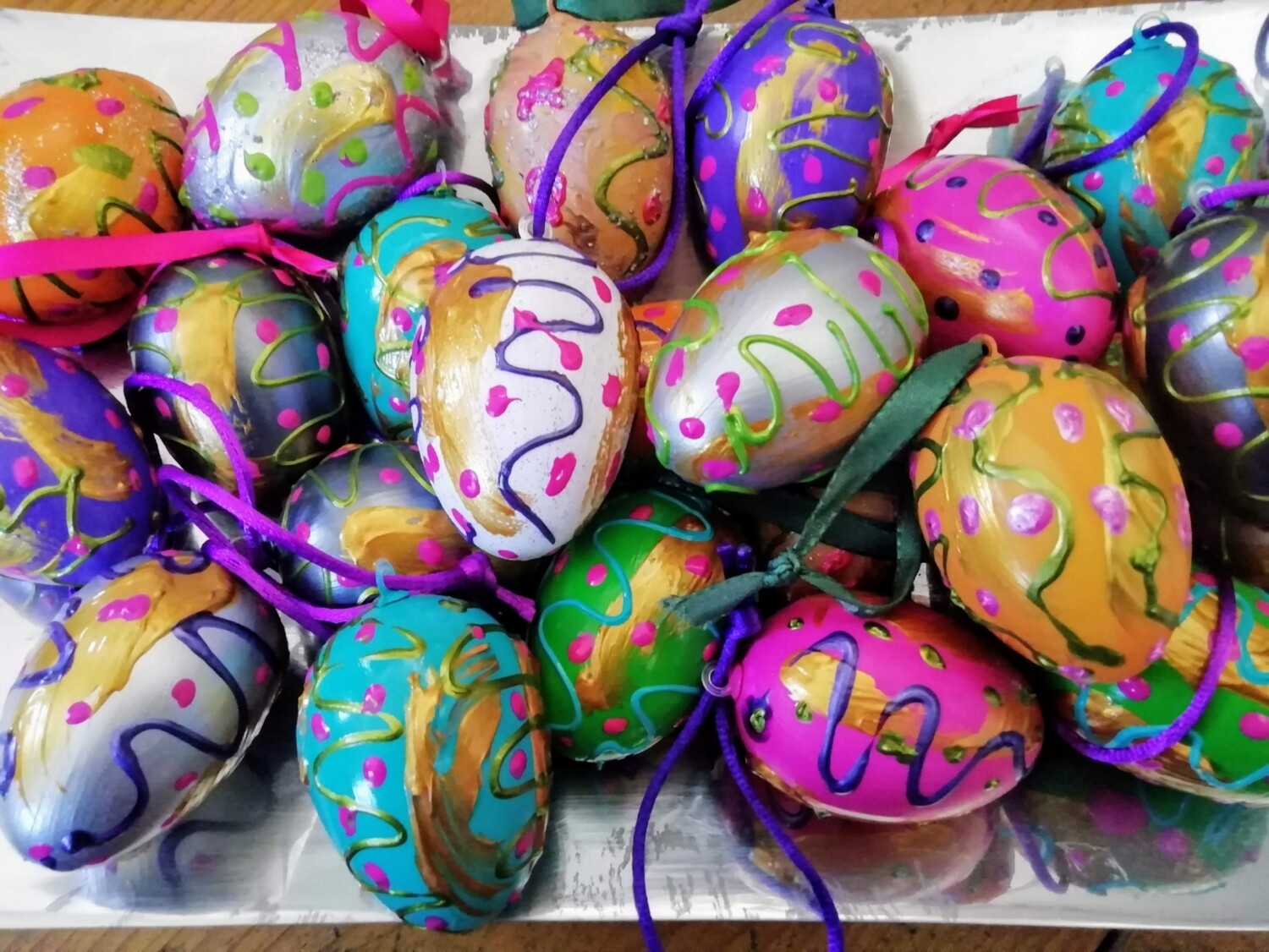 Easter Eggs - Hand painted by Corinna Kirchhof