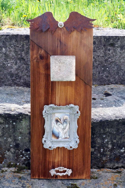 Einzigartiges Holzobjekt