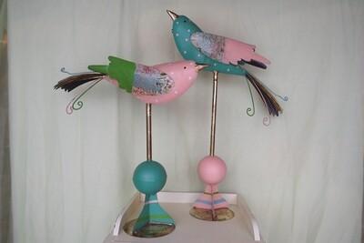 Vogel-Aufsteller mit Kugel