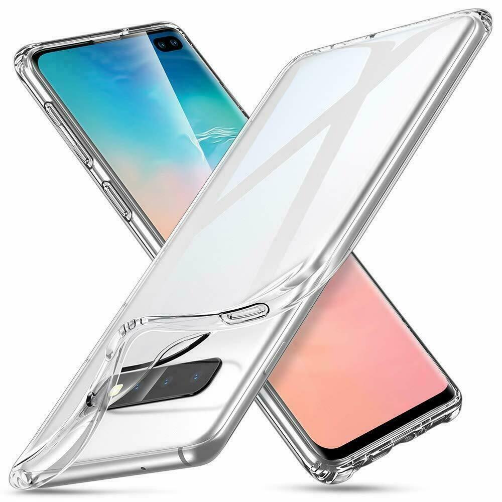 Samsung Galaxy S10 Liquid Hülle Durchsichtig Case