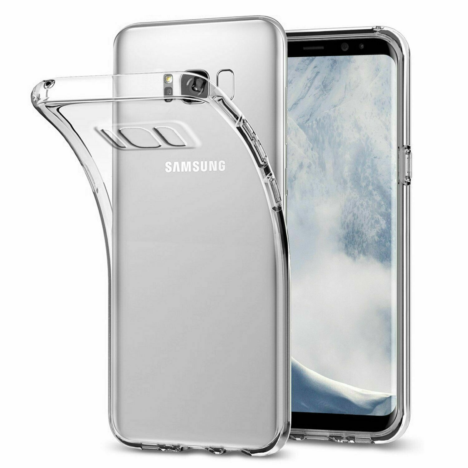 Samsung Galaxy S8+ Plus Hülle Transparent Cover