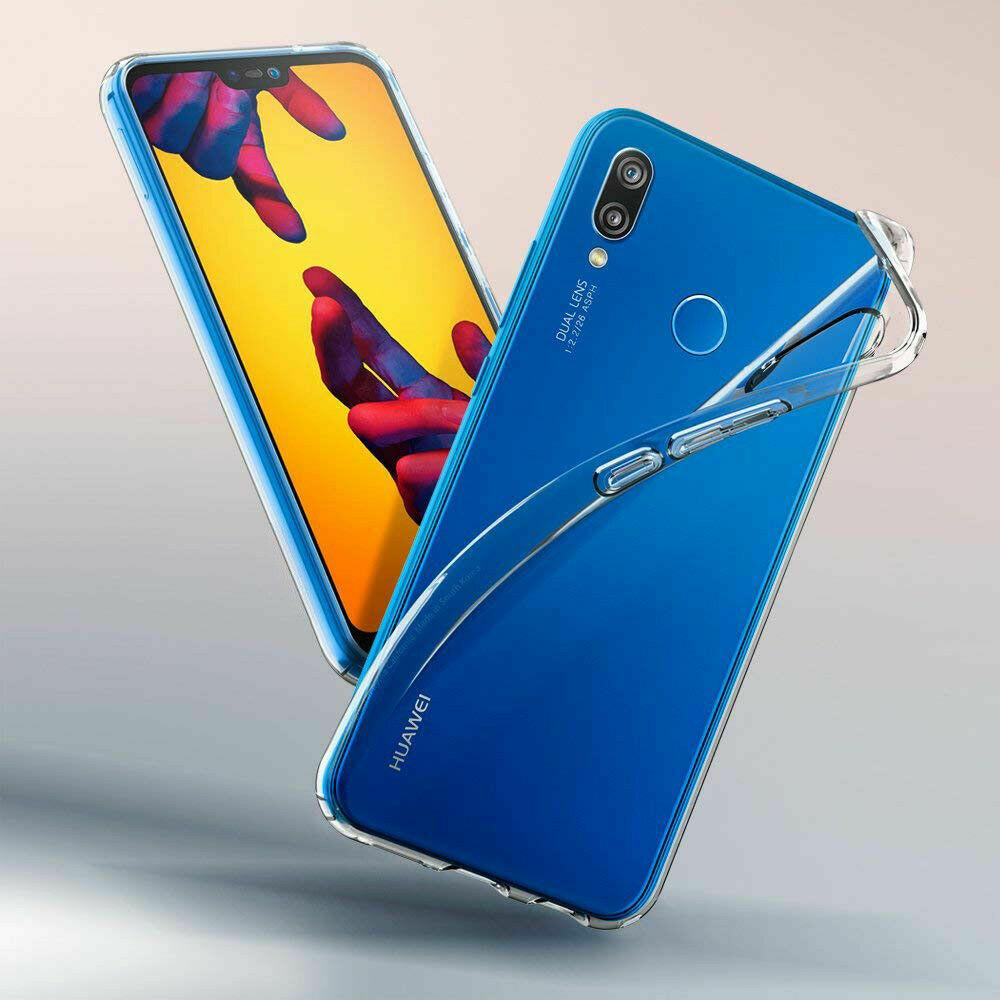 Huawei P20 Lite Case Ultra Soft Schutz Hülle Transparent