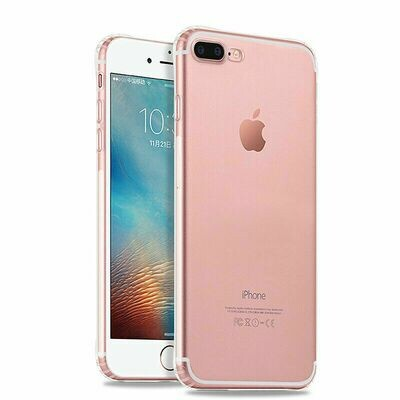 iPhone 8 Plus 7 Plus Durchsichtig Silikon Hülle Ultra Slim