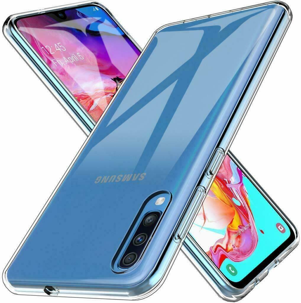 Samsung Galaxy A70 Transparent Hülle Durchsichtig Case