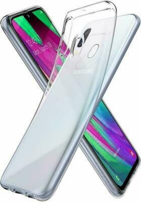 Samsung Galaxy A40 Transparent Hülle Ultra Slim Case