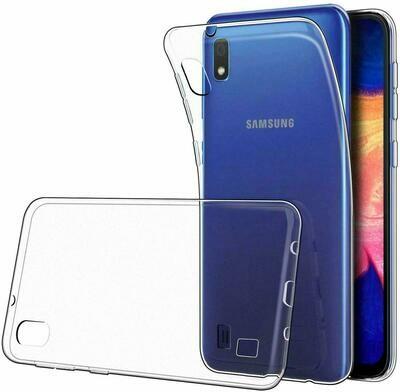 Samsung Galaxy A10 Transparent Hülle Durchsichtig Case